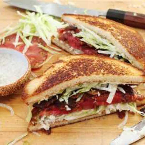 Рецепт сэндвич с беконом