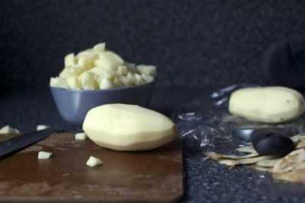 Суп в мультиварке с картофелем и беконом