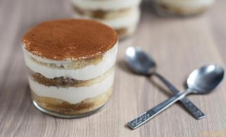 Тортик с шоколадом и сыром