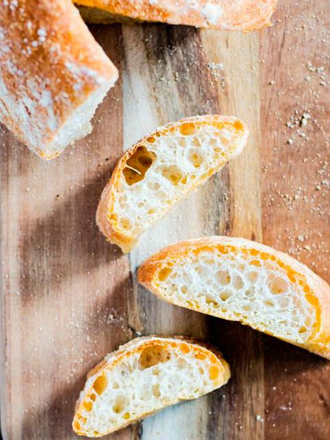 Чиабатта-итальянский хлеб