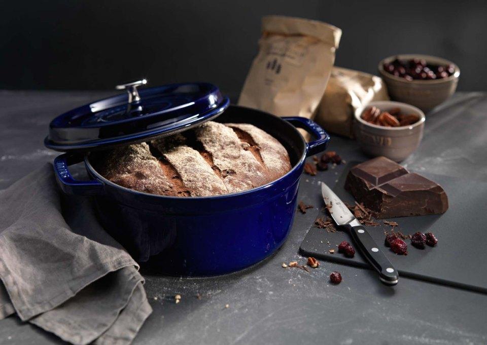 Голландский хлеб с темным шоколадом
