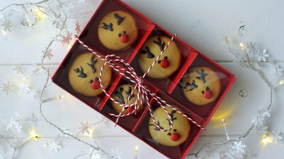 Печенья «Рудольфские олени»