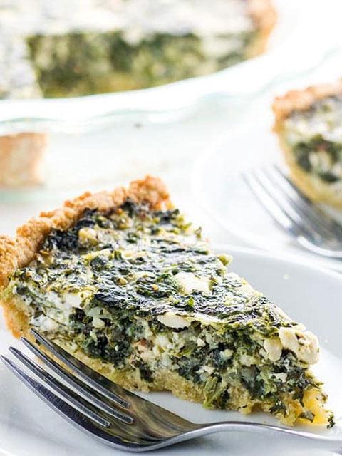Пирог со шпинатом