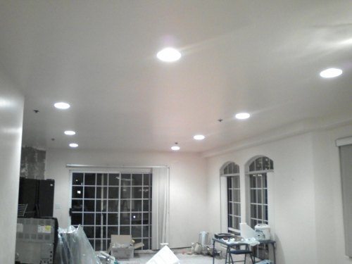 small resolution of how to install recessed lights with attic access