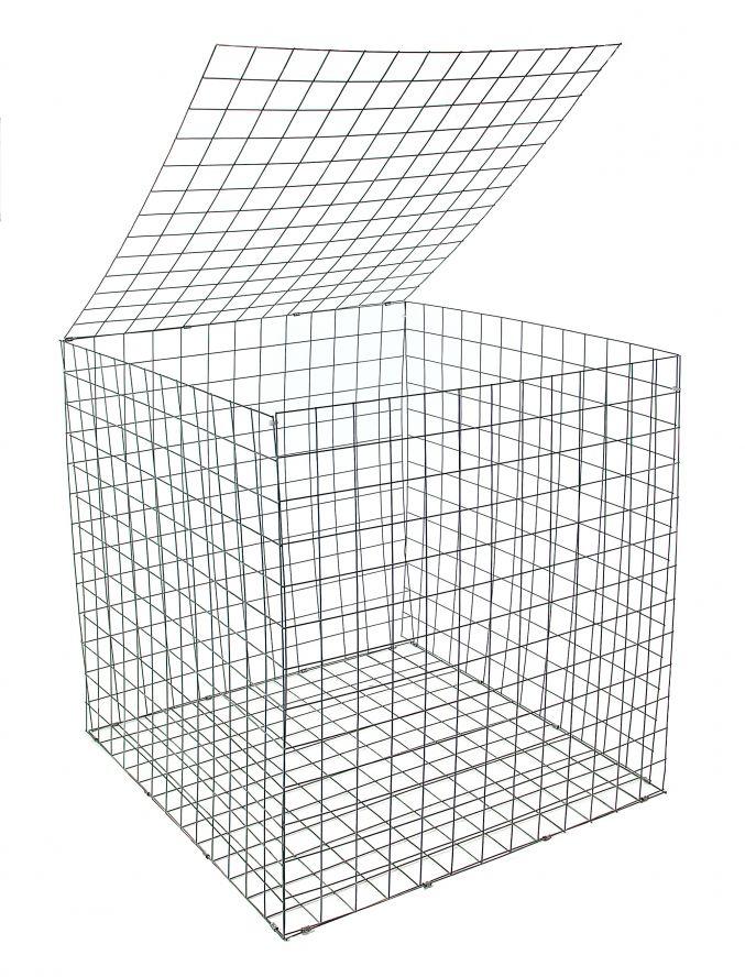 Ecogrid Gabion basket 500 x 500 x 500mm (1 unit