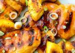 pollo asado con piña