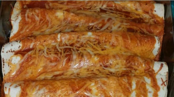 enchiladas de pollo