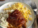 Muslos De Pollo Con Salsa