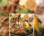 Pechugas de pollo con mostaza y hierbas