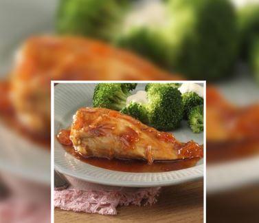 pollo con albaricoque