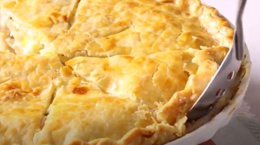 enchiladas de pollo cremoso
