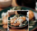 Pollo frío con pepino