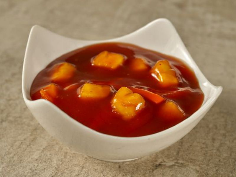 como hacer salsa agridulce