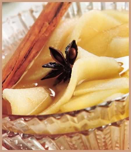 compota de manzana y anís