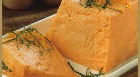 Budín de zanahorias