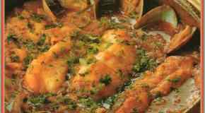 La receta para preparar conchas de pescados