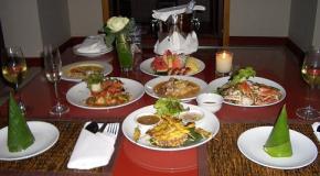 Disfrutar de la cocina romántica