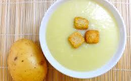 Receta de crema de patatas