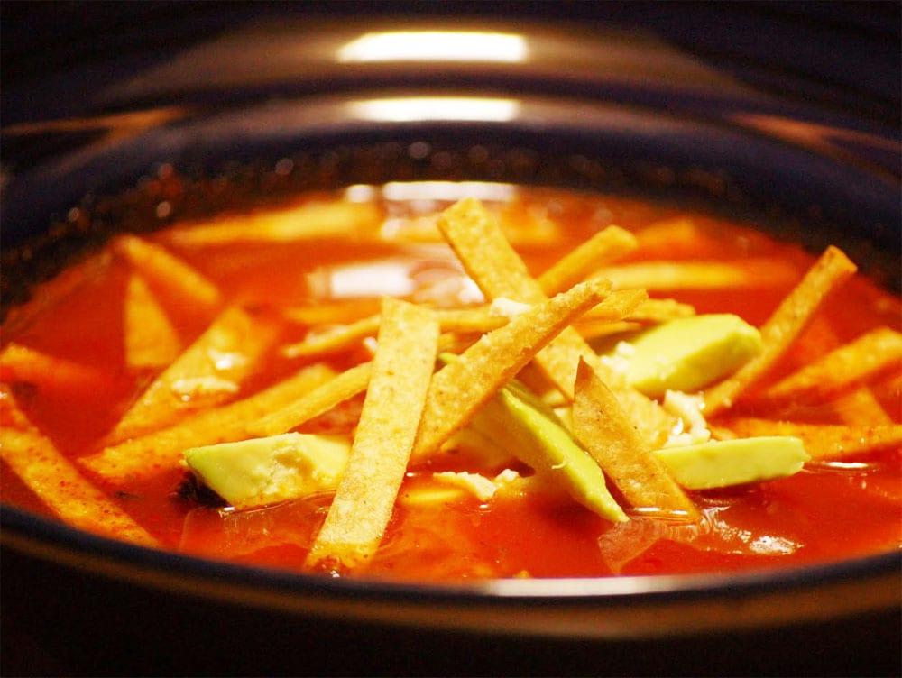 Sopa de tortilla  Recetas Mexicanas
