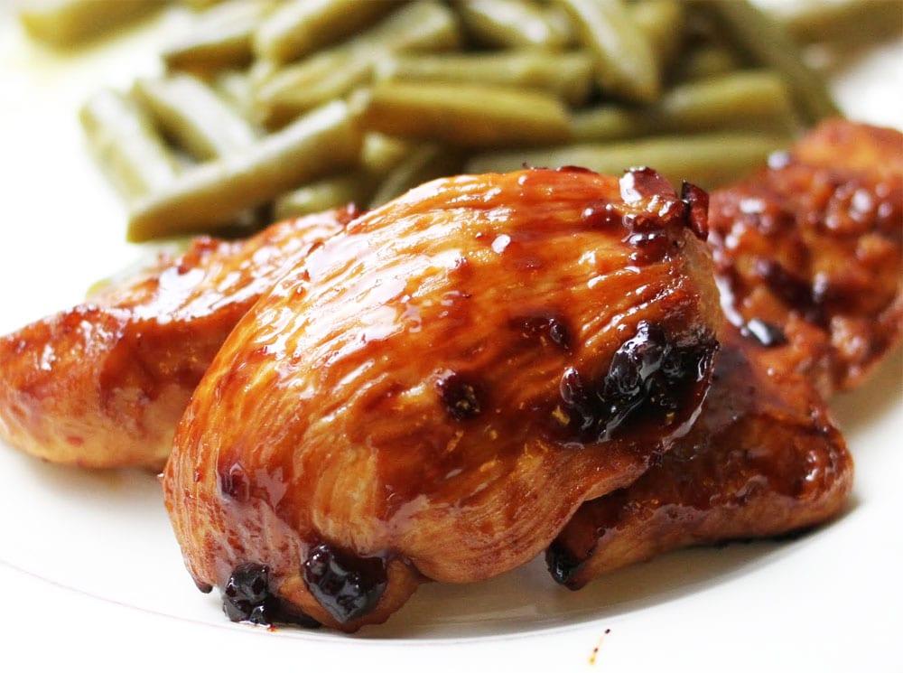 Pollo enchilado  Recetas Mexicanas
