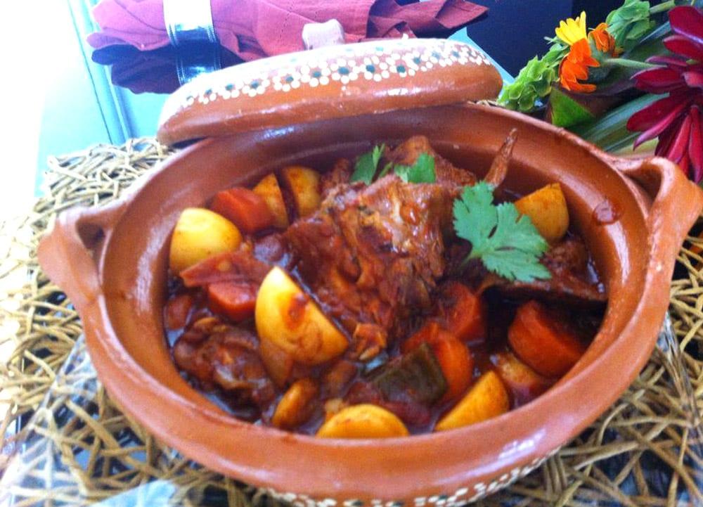 Barbacoa de conejo  Recetas Mexicanas