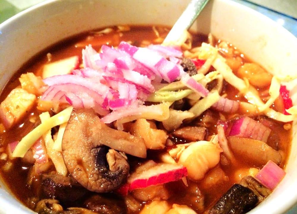 Pozole vegetariano  Recetas Mexicanas