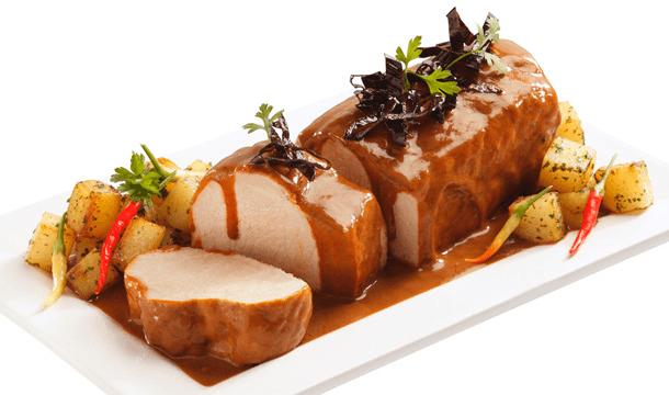 Lomo de cerdo en salsa de tamarindo   Recetas de comida