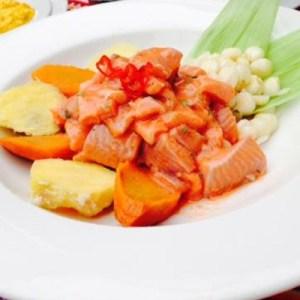 Ceviche de Trucha, ceviche de río