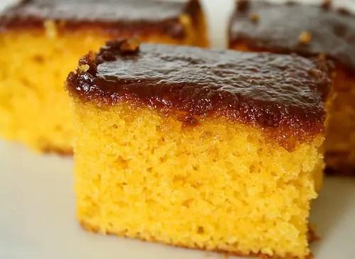 Tarta de Zanahora con Chocolate Estilo Brasileo  Recetas Americanas