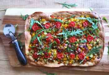 Tarta rápida de verduras