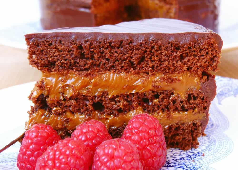 torta de Chocolate, dulce de leche y mascarpone