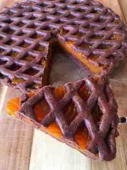 Tarta de Chocolate Rellena de Dulce de Batata