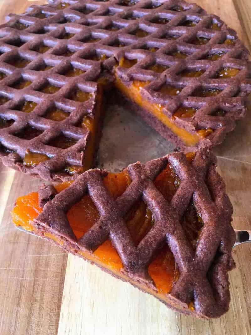 tarta de chocolate y batata
