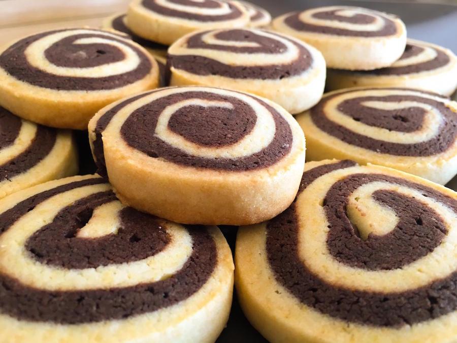 Galletitas o Galletas de vainilla y chocolate