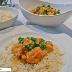 pollo al curry1 - Muslos de pollo al curry en olla JRD