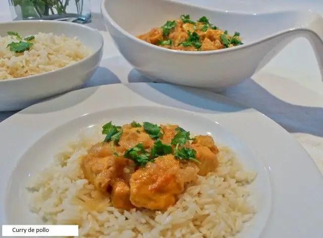 pollo al curry1 - Curry de pollo