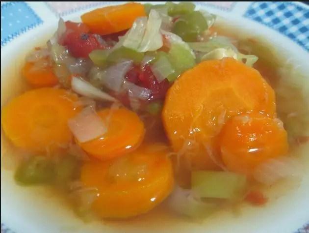 sopa quema grasa1 - Tortilla de patatas en Thermomix