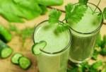 batido verde isabel preysler2 - Sopa de pollo con hierbabuena al estilo de Portugal