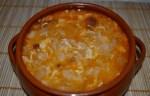 Sopa de ajo castellana en Thermomix