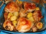 pollo asado con limón - Bizcocho de naranja húmedo en Thermomix