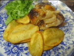 pollo asado al horno - Paté de jamón y anchoas con Thermomix