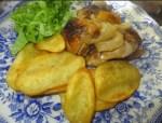 pollo asado al horno - Flan de los 30 minutos con Thermomix