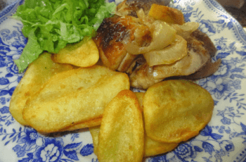 pollo asado al horno - Pollo asado en el horno con Thermomix