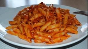 macarrones con chorizo 1 - Pizzas y pastas con Thermomix