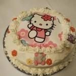 Tarta de fresas de Hello Kitty
