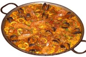 paella mixta - Recetas tradicionales varios y arroces