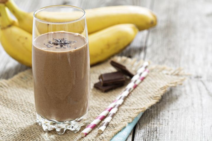 smoothy chocolate - Batido chocolate o Smoothy de chocolate Thermomix
