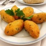 pasteles de bacalao - Calabacínes rellenos de pollo con Thermomix