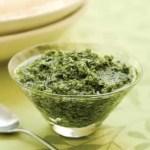 salsa pesto - Recetario (A-Z)