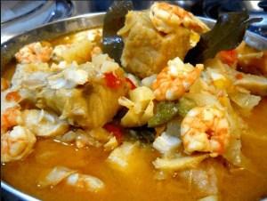 caldereta bacalao portugal - Recetas tradicionales de pescados y mariscos